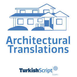 english to turkish architectural translation