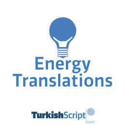 english to turkish energy translation