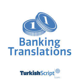 english to turkish banking translation